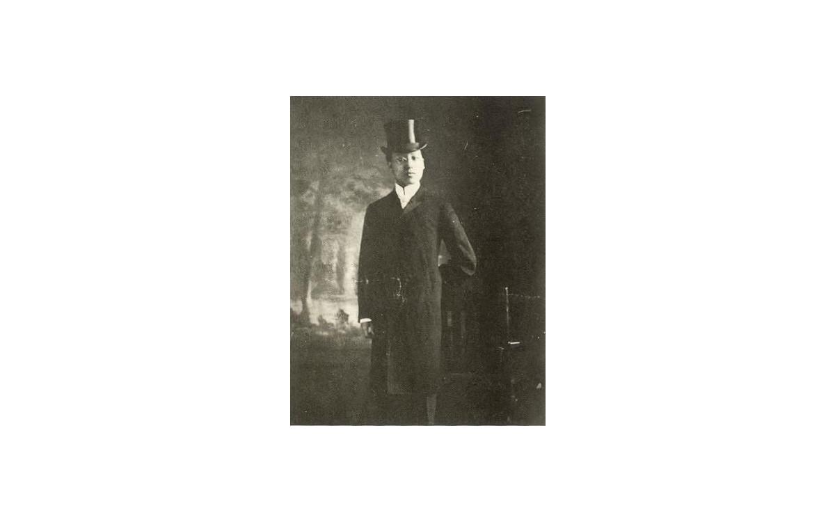 미국 대통령 시어도어 루스벨트만나기 위해 예복을 갖춘 이승만 (1905년 8월)<br />